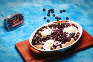 2151 Blueberry and Thyme Cobbler recipe - the cooks pantry