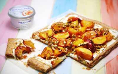 Roasted Peach Tart