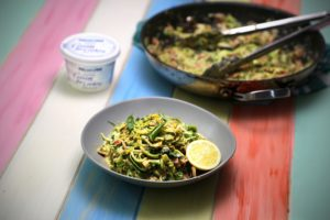 2263 Broccoli + Bacon Zucchetti Carbonara recipe - the cooks pantry
