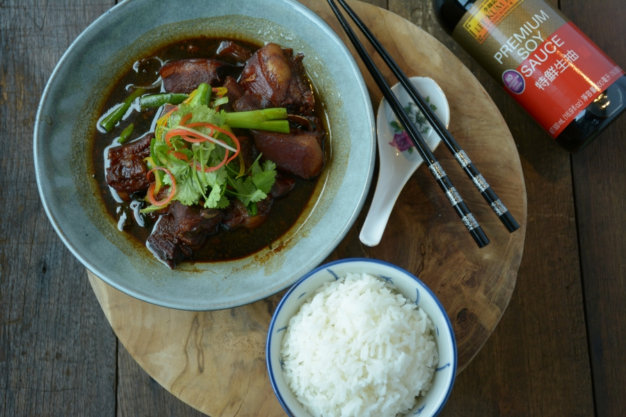 2276 Shanghai Modern Braised Pork Belly recipe - the cooks pantry