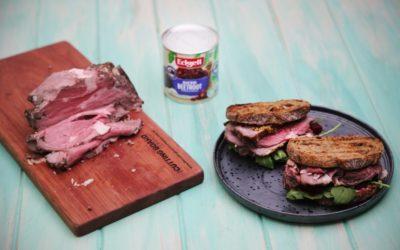 Rare Roast Beef Sandwich