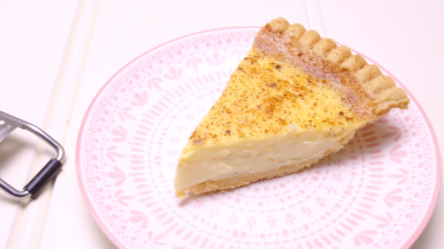 Custard Tart recipe - the cooks pantry