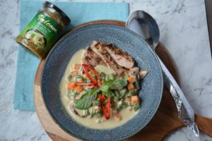 Thai Green Curry Grilled Beef recipe - the cooks pantry