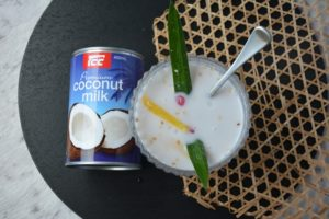 Thai Red Rubies in Coconut Milk, the cook's pantry recipes