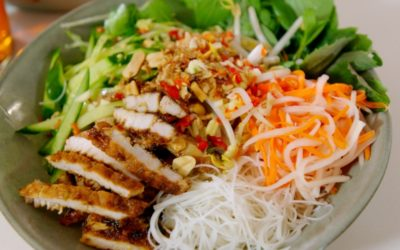 Vietnamese Grilled Pork Noodles (Bun Thit Nuong)
