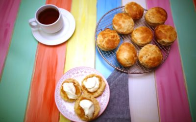Gingerbeer Scones