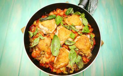 Spanish Chorizo Traybake