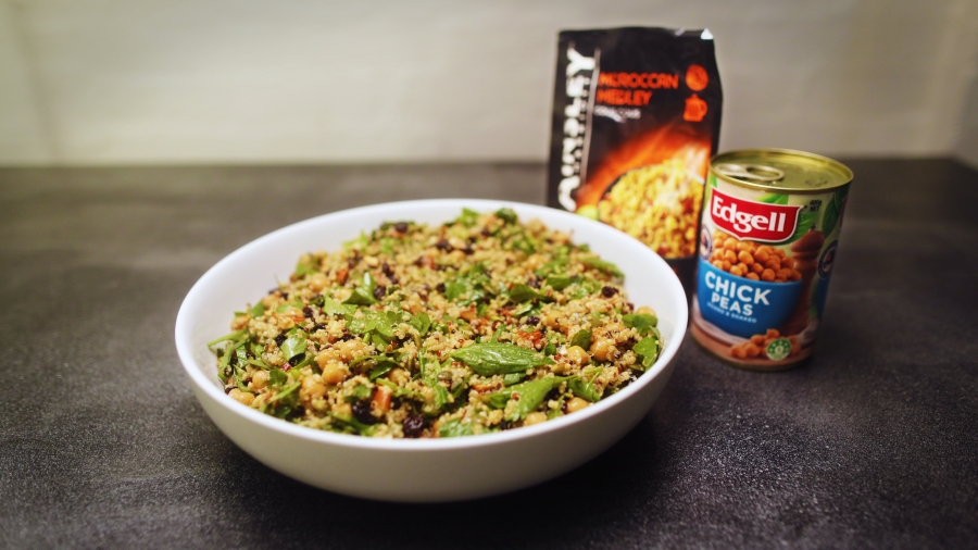 Cous Cous and Chickpea Salad