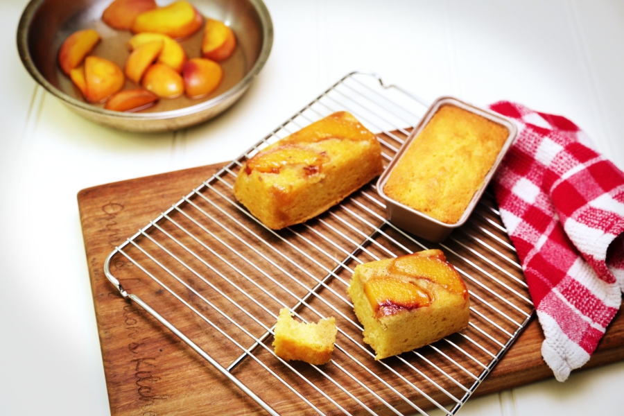 Warm Peach Pudding