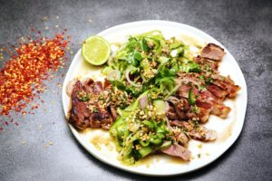 2209 Sirloin Steak with Jaew Dressing recipe - The Cooks Pantry