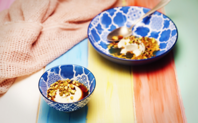 Burnt Honey Panna Cotta