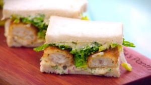 Fish Finger Sandwich recipe - The Cooks Pantry