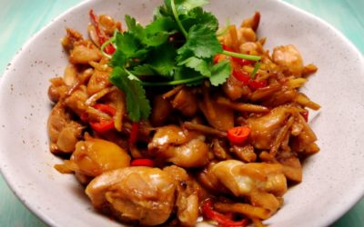 Fish Sauce Caramel Chicken