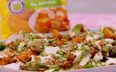 Sweet Potato & Chicken Salad