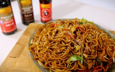 Shanghai Fried Noodle