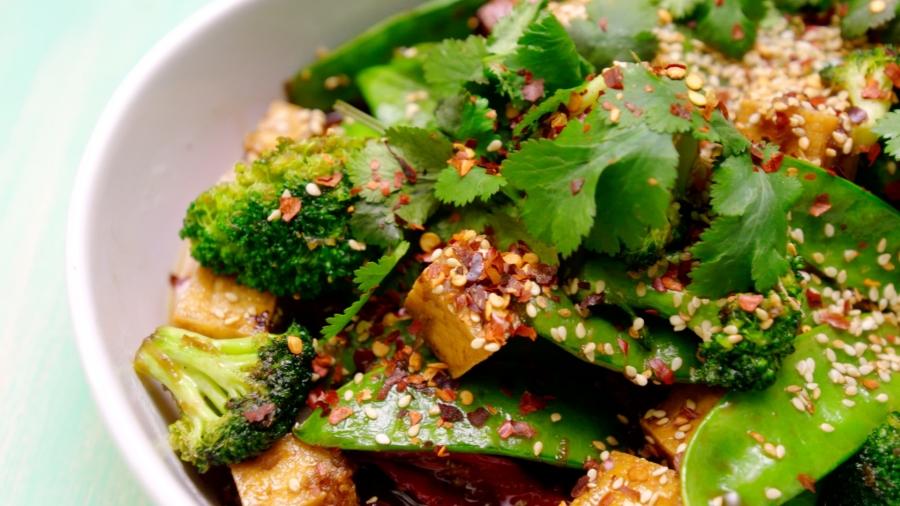 Teriyaki Tofu and Broccoli Stir Fry